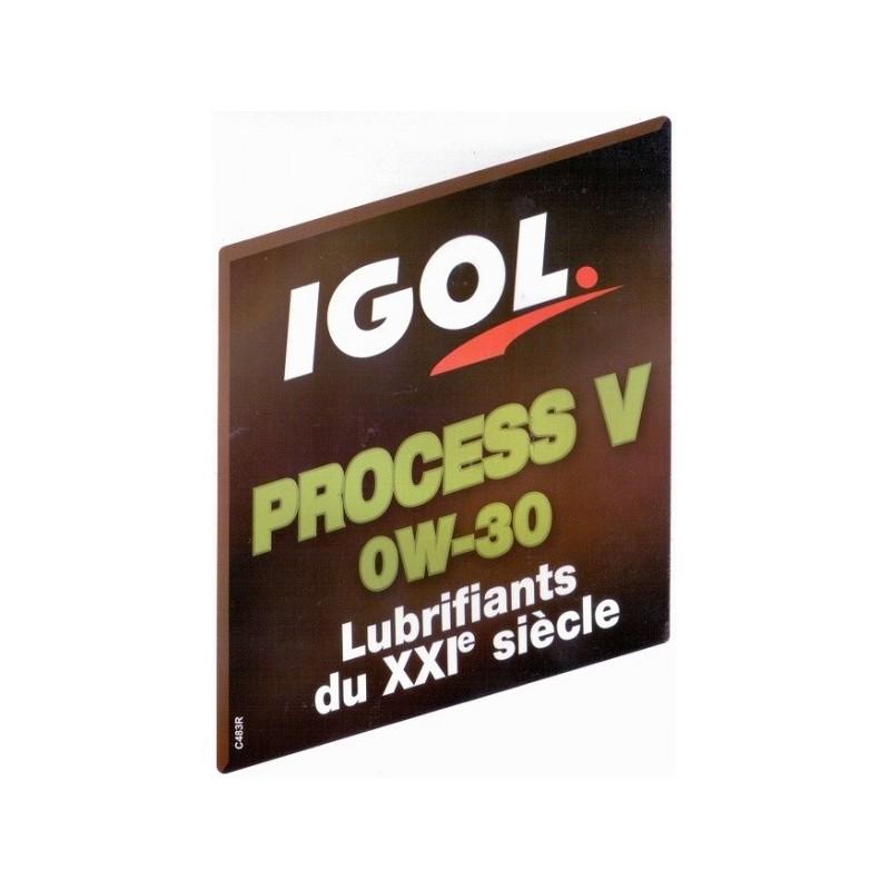 IGOL Process Hybrid 0w20 20L alyva