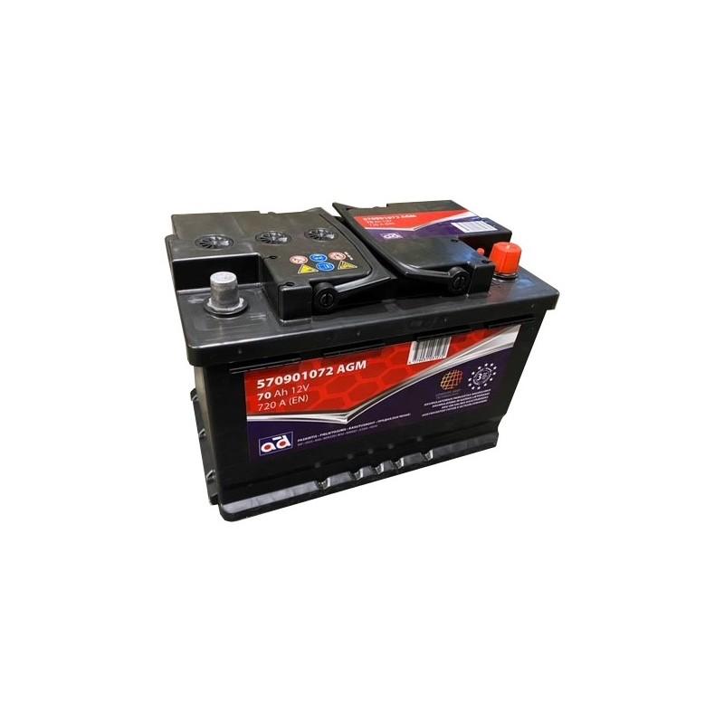TAB EFB Stop & Go 105Ah 900A 12V akumuliatorius