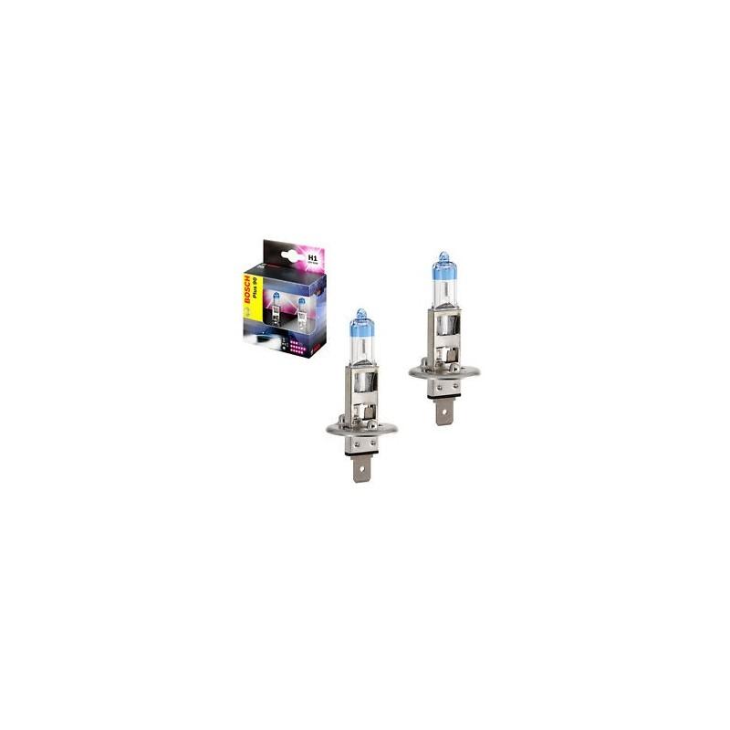 Philips H4 12V/60/55W +60% Philips White Vision lempute + W5W (2vnt)