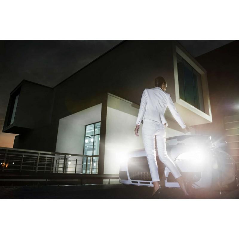 Philips H4 12V/60/55W +60% Philips White Vision lempute (1vnt)