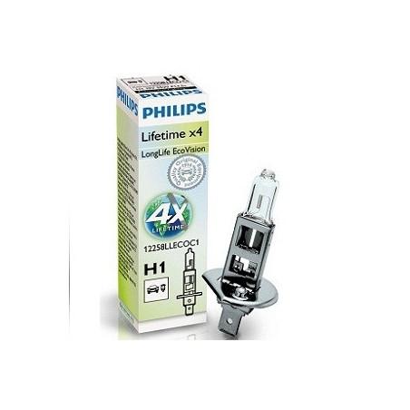 Philips H4 12V/60/55W +60% Vision Plus lempute (2vnt)