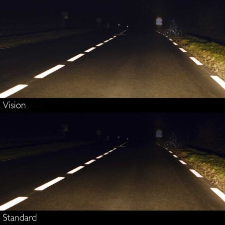 Philips H4 12V/60/55W +60% ColorVision Blue lempute (2vnt)